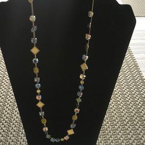 Multicolor Crystal Necklace 🔖